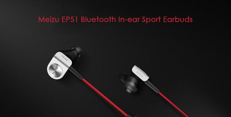 MEIZU EP-51 Bluetooth HiFi Sports In-ear Earbuds